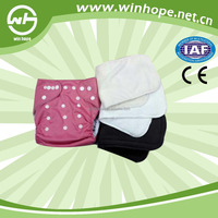 China wholesaler of baby cloth diaper with microfiber or bamboo insert