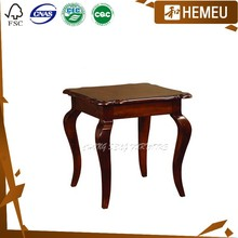 ET3003 Dark walnut colour living home solid wood chest coffee table