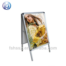 promotion sale double sided moving picture frame A board sign H41