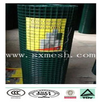 """(15 years factory) Mouse over image to zoom 2x4"""" 14G 36""""x100' Black PVC Coated GALVANIZED Welded Wire Mesh Rolls-"""