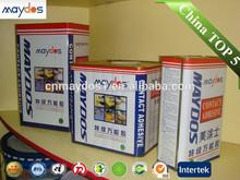 Low voc contact cement bond car adhesive glue