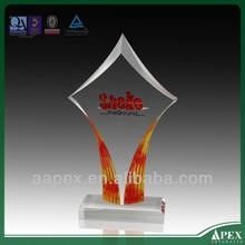 De alta qualidade barato plastic troféu copas troféu