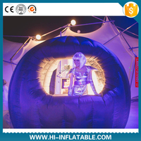 Advertising/promotional/trade/exhibition/inflatable igloo tent
