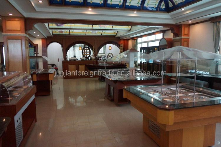 Buffet refrigeration equipment salad bar restaurant for Equipement bar restaurant