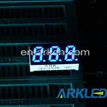 mini 0.31 inch red color 3 digit led number display,high quality