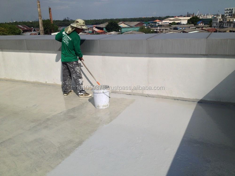 Elastomeric flexible roof waterproof coating based on for Flexible roofing material