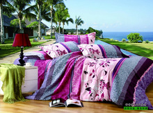 good quality 100% polyester bedding set home textile