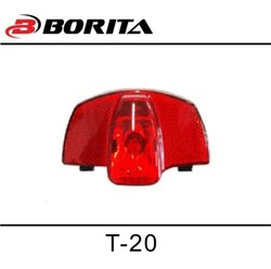 Borita Good Quality Bicycle Led Dynamo Rear Light