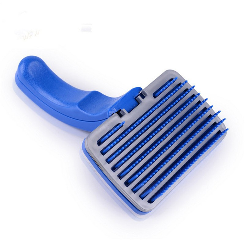 2015 New Pet Blue Brush For Long And Short Haired Cats Dogs Cleaning Brush Grooming