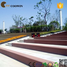 polymer-wood composite WPC garden decking board (TH-16)