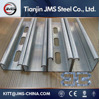 P4121/P4141 Slotted Strut Channel c steel profile c channel / c lipped channel c purlin c channel / c section galvanized steel