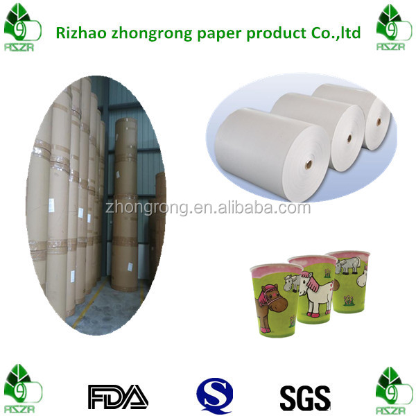 gradeA poly coated paper for cup making
