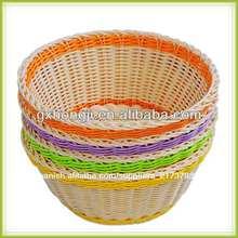 ronda de mimbre cesta de mimbre