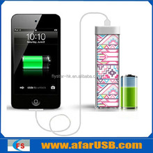 HOT NEW CHEAP !!! Power Bank 4 color printing, Full Color Custom Picture Portable External Power Bank for Cell Phone 2200mah,