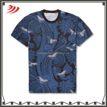 Round neck fitting 95 cotton /5 elastane t-shirt print your own alibaba china