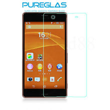 Paypal accepted special shatterproof remove air bubbles screen protector for Sony Xperia z4
