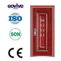 metal steel security front entry iron door designs