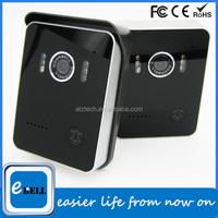ATZ-DB004P fashion new design mobile phone doorbell video camera 2 way audio