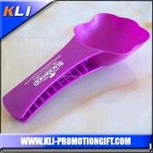 plastic pet food scoop with clip