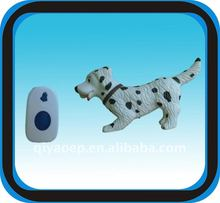 Christmas Business Gift Items Promotional Gift Sets Remote Door Chime Lovely Dog CE Certified