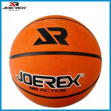 Orange 7# Rubber Basketball JB001, Joerex Brand Sports Team Basketball