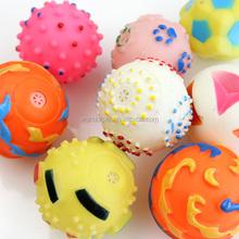 4 Asst. Vinyl dog toys ball throw, squeaky vinyl toys for dog, pet toys for dog