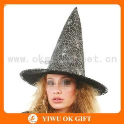 Grenadine felt crazy hat party ideas, halloween party decoration, halloween makeuup accessories