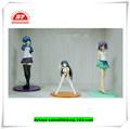 3d por encargo de plástico sexy japonés de la figura de dibujos animados, 3d sexy chica de la figura de dibujos animados