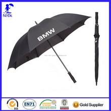 Windproof 27 Inch * 8K Advertising Straight Promotional Golf Umbrella