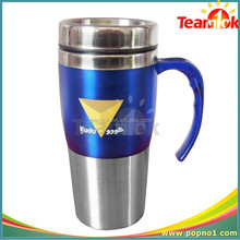 Promotional Logo Printed Stainless Steel Travel Mug