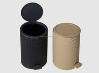 Beautiful and characteristic plastic rubbish bin and bucket