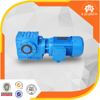 30years history China manufacturer High torque SEW standard S series helical worm gear reducer