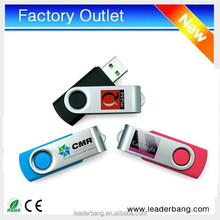 Factory Cheap Promotional swivel usb flash disk