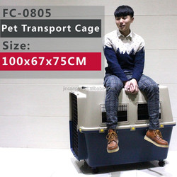 Dog Cage Pet Aviation Box/Pet Carrier Aviation Dog Cage( size:100x67x75CM)