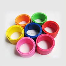 Ruler slap bracelet Cheap for promotion gift,Costomize Reflective PVC Slap Bracelet