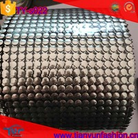 full sequins decorative garments roll packing diamond wholesale silver trim