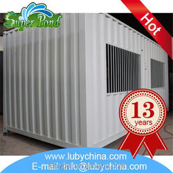 Professional 20ft foldable expandable container house with CE certificate