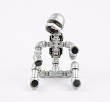 6.6-03 Robot Pipe Led Head Lamp, Light Decoration Collection Orange New Item