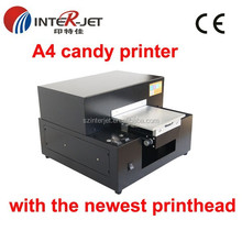 2015 newest A4 mm candy printers with stalbe quality and high speed