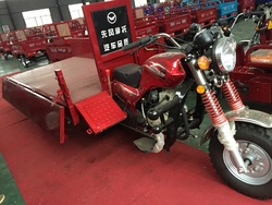 150cc air-cooled engine tricycle made in China/garbage auto rickshaw