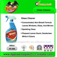 PE Car Glass Cleaner In Spray