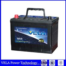 plastic car battery cover 12 V N60 CAR BATTERY