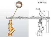 AM Brass Floating Ball Actuated Valve with Strainer
