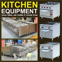 2015 Latest Commercial Stainless Steel Hotel Restaurant Kitchen Equipment(Chef's Best Choice)