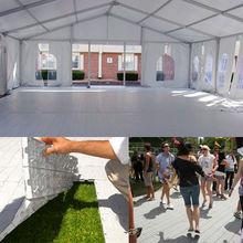 plastic tent floor