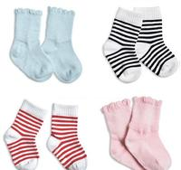 D33773A BABY 100% COTTON FANCY SOCKS