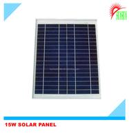 Shenzhen made 15W monocrystalline solar panel
