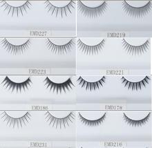 Hundreds of styles diamond eyelashes silk false eyelashes synthetic lashes