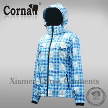 Hot selling windproof warm keeping nylon winter parka for girls