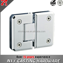 180 degree glass door hinge Glass to glass
